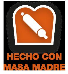 Icono hecho con masa madre